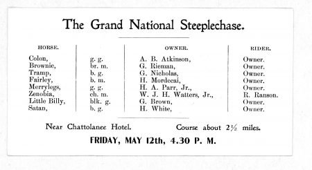 Grand National Steeplechase